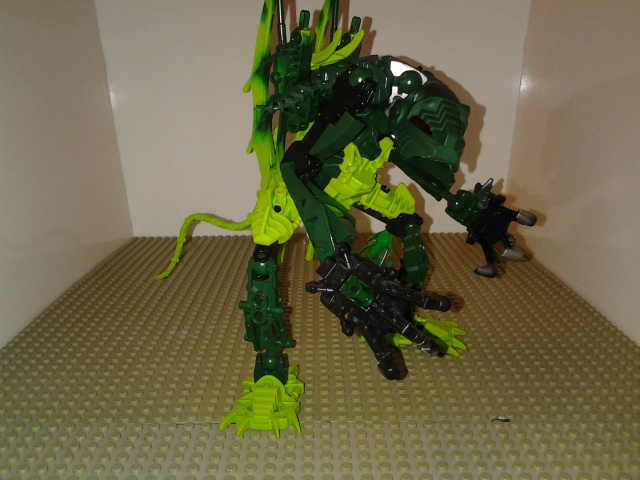 Swamp Monster MOC by sideshowOfMadness