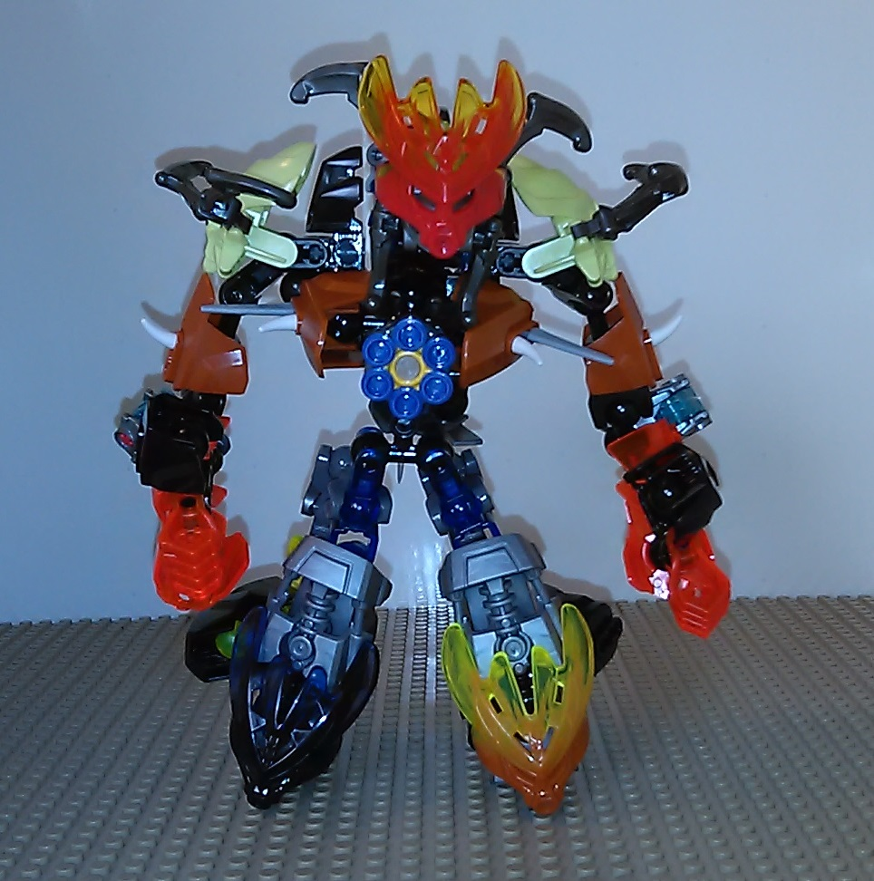 MOC Protector of Volcanoes by sideshowOfMadness