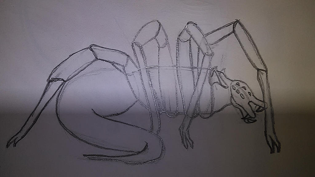 Rat Spider Queen by sideshowOfMadness