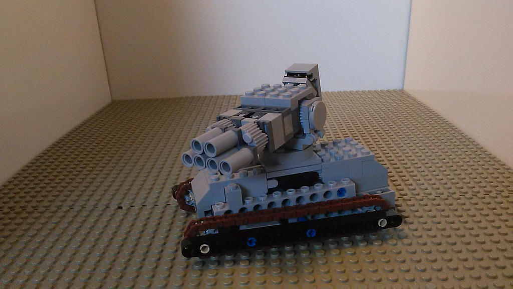 Lego Tank Transformer MOC by sideshowOfMadness