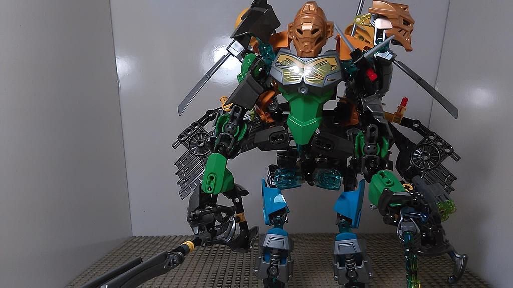 Combo MOC Master of Swamps by sideshowOfMadness