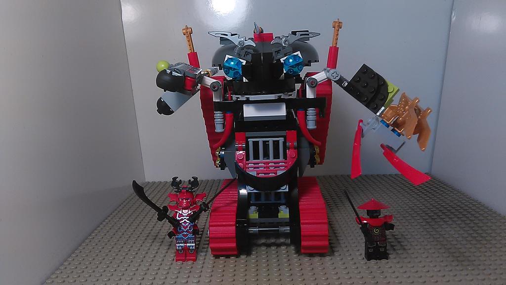 Ninjago Garmatron Rebuild by sideshowOfMadness