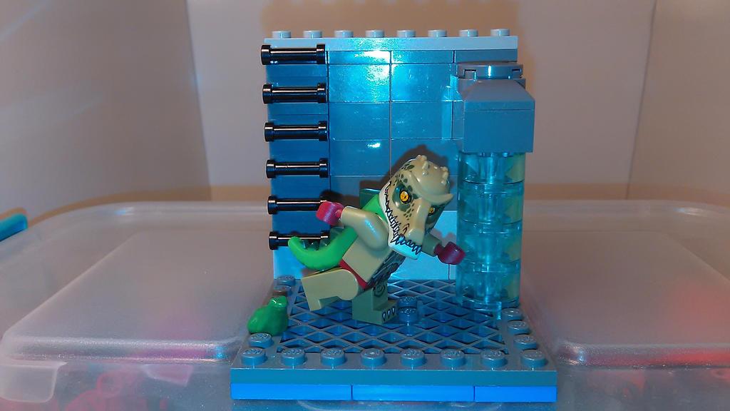 MOCtober 3 Sewer Gator by sideshowOfMadness