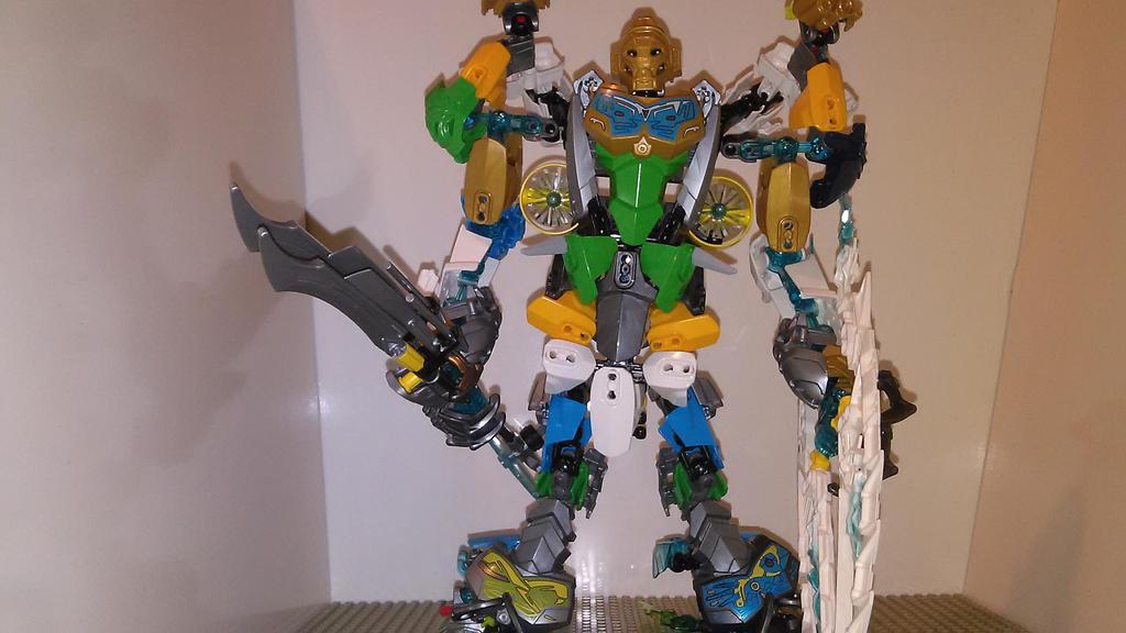 Bionicle Toa Combo Wairuha by sideshowOfMadness