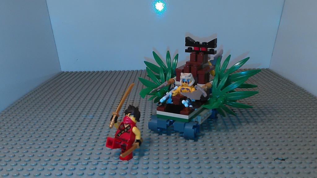 Ninjago MOC Jungle Racer by sideshowOfMadness