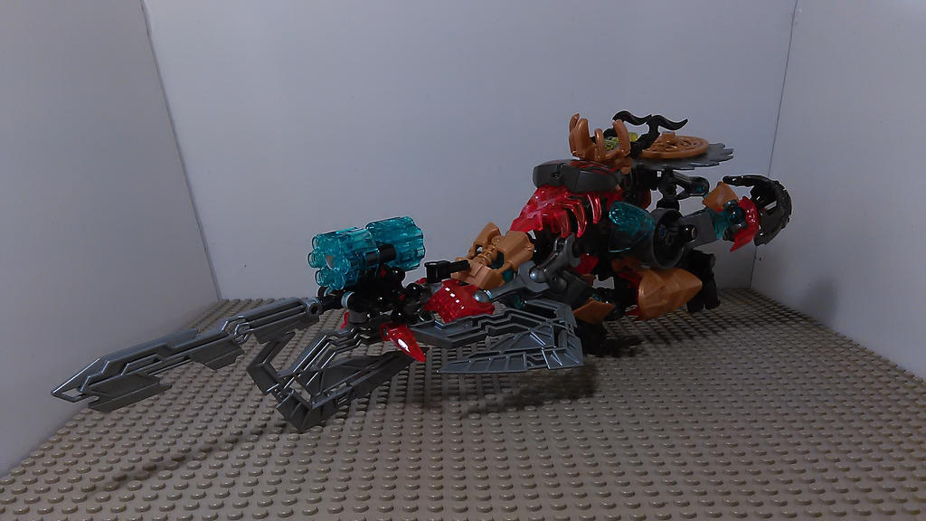 Mask Cutter - Hover Bike Mode by sideshowOfMadness