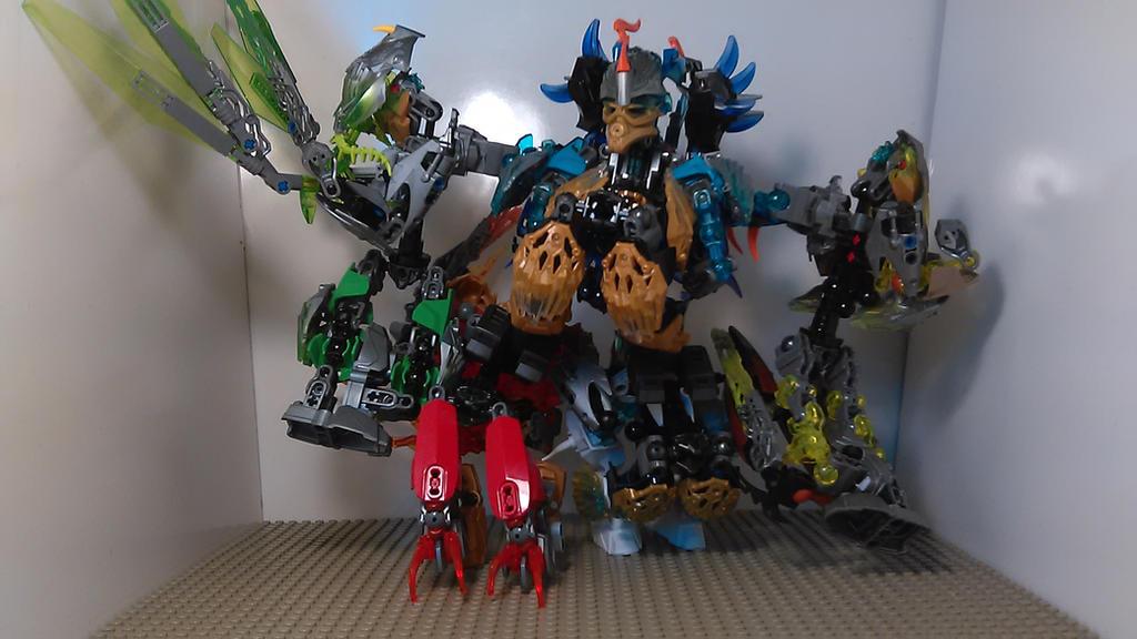 Bionicle Transformer MOC Combination by sideshowOfMadness