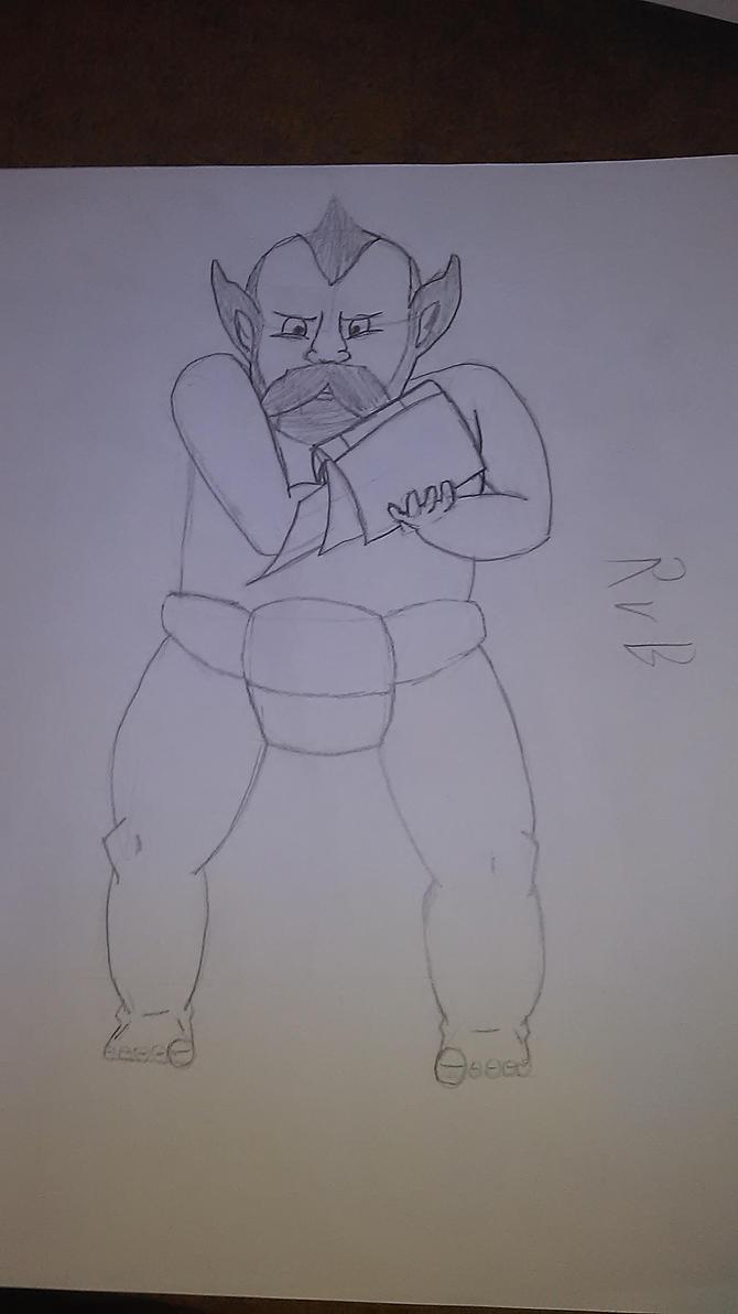 Dwarf RvB by sideshowOfMadness