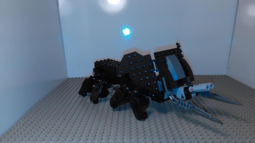 MMPR Mastodon Zord [Lego MOC] by sideshowOfMadness