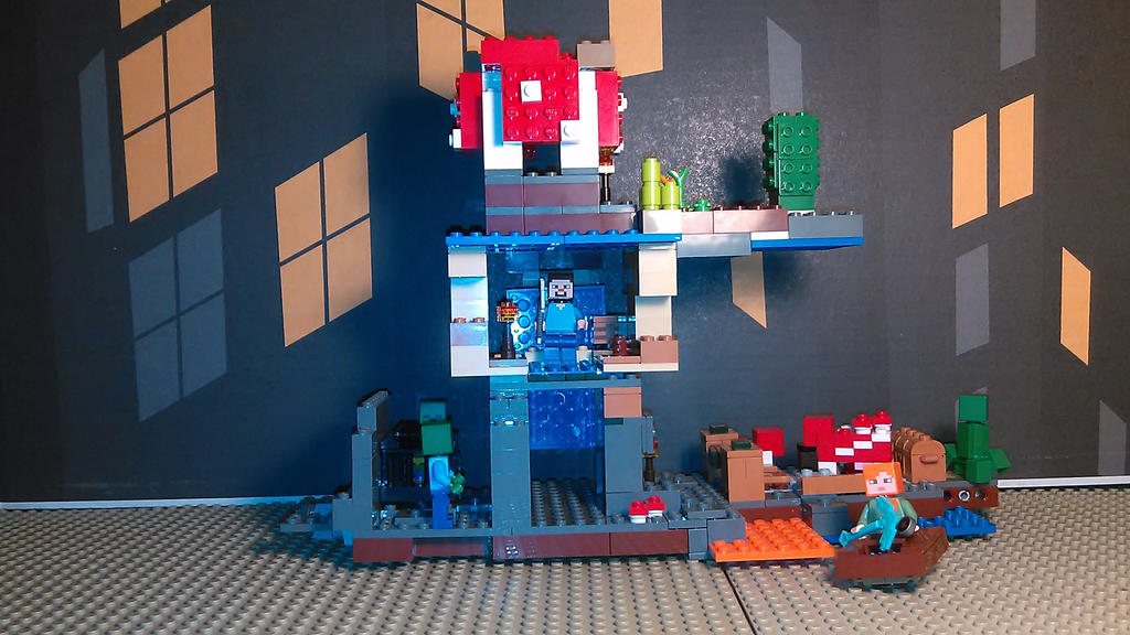 [MINECRAFT MOC] Adventure Tower by sideshowOfMadness