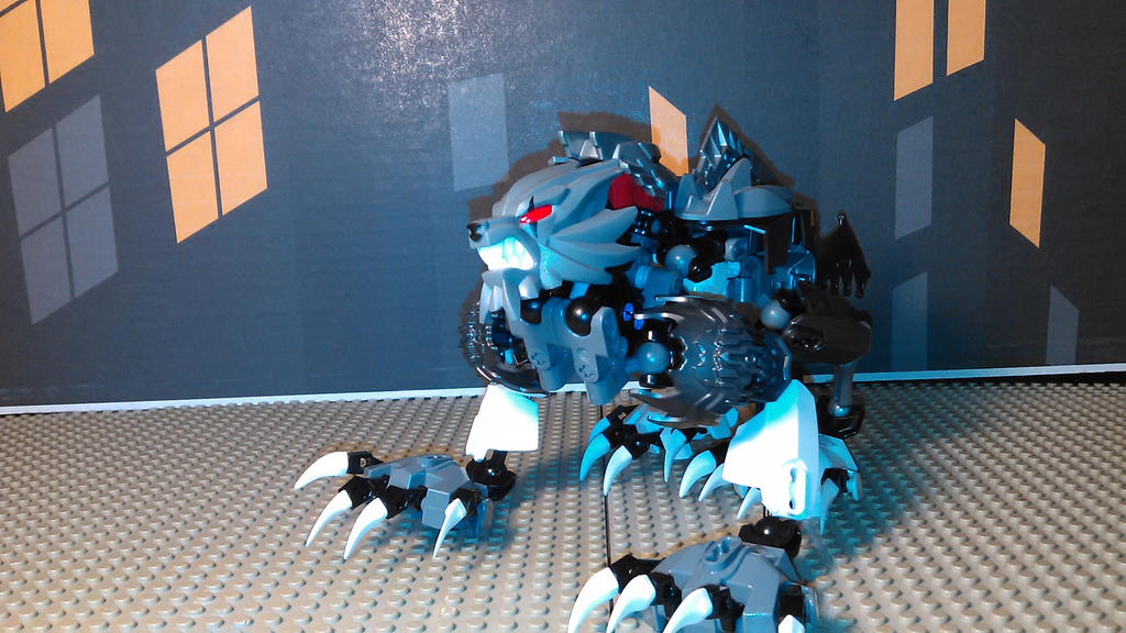 Werewolf V3 (Wolf Mode) by sideshowOfMadness