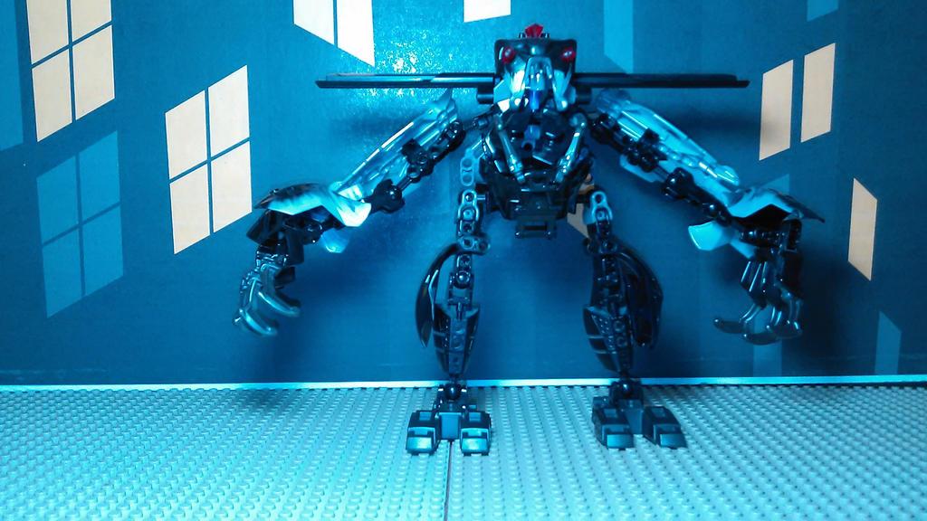 Manta ray Man [Robot Mode] by sideshowOfMadness
