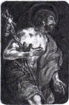 St. John the Baptist Holy Card
