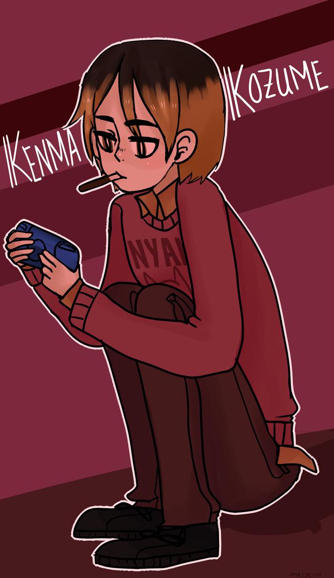 kenma is a cutie patoot by KiyaAyraLuna