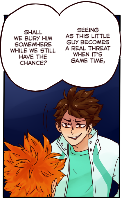[haikyuu!!] chapter 108 panel redraw by KiyaAyraLuna