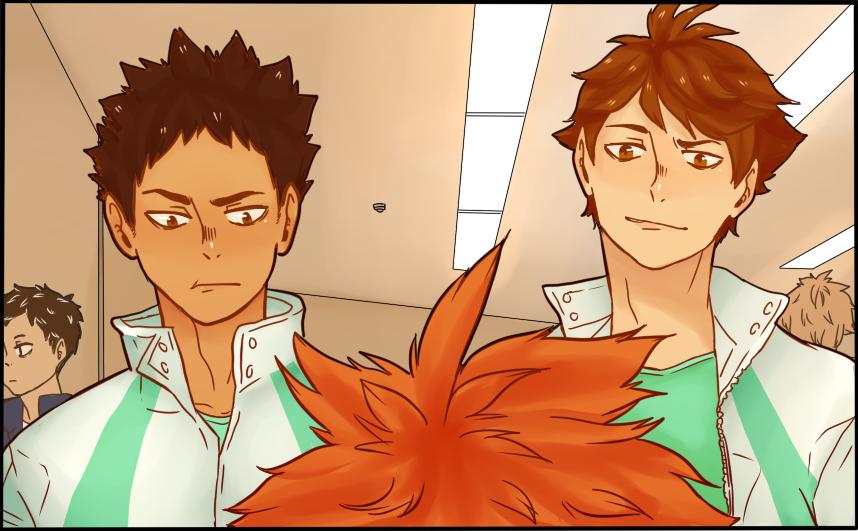 [haikyuu!!] chapter 108 panel redraw #2 by KiyaAyraLuna