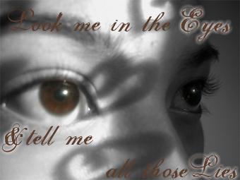 Look Into My Eyes by kallistos