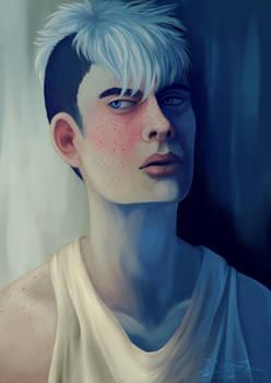 Color/Face Study #3