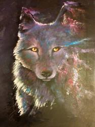 Spirit Wolf by Boosue