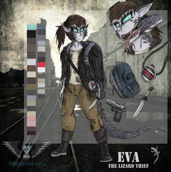 Eva the Lizard Thief ref by Rising-Pheniox-A47