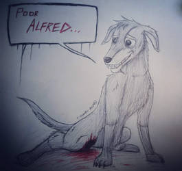 Poor Alfred.. by Rising-Pheniox-A47