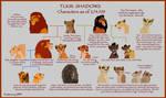 Shadows Character Ref Chart by Simbamarasa