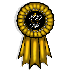 CE|800 Mil Rank Ribbon by CherryBlossomEstates