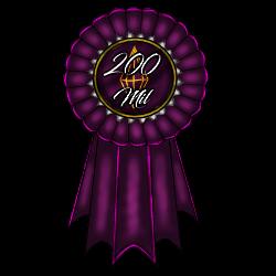 CE|200 Mil Rank Ribbon by CherryBlossomEstates