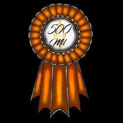 CE|500 Mil Rank Ribbon by CherryBlossomEstates