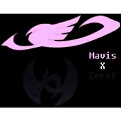 Fairy Tail Shipping Icon: Mavis X Zeref by yohohotralala