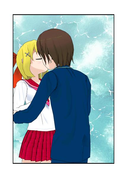 Ness x Paula Kissing Test by princesszeldaxlink