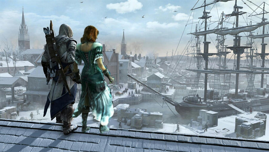 przeci assassins creed iii -