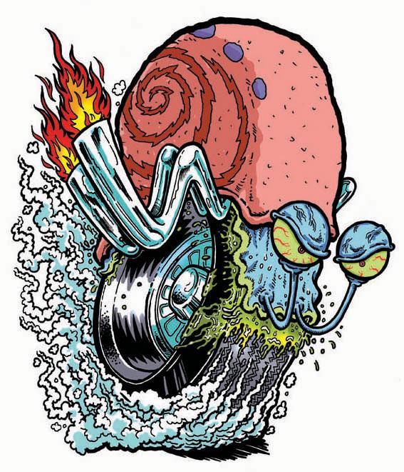 SPONGEBOB Hot Rod GARY by yourpalSmitty on DeviantArt
