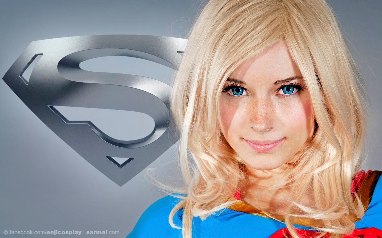 Supergirl Portrait HD by SarmaiBalazs