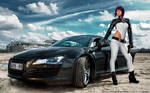 Motoko with R8