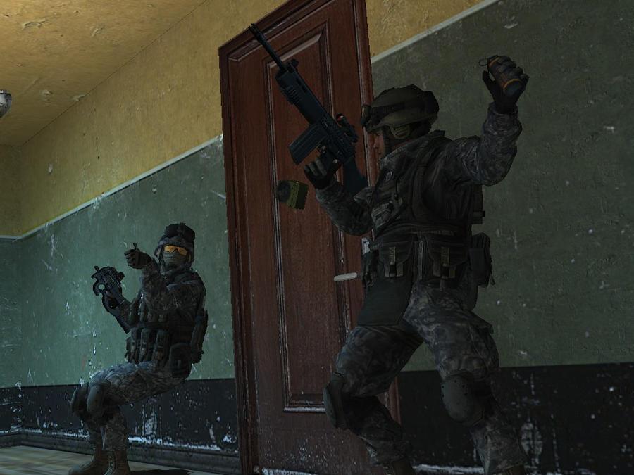 Door Breach by Tyger18 ... & Door Breach by Tyger18 on DeviantArt