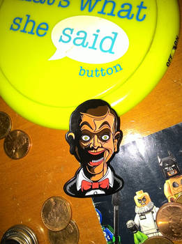 Slappy Pin.