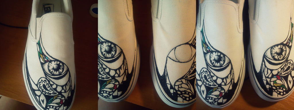 shoes wip by ChemicalAngelxD
