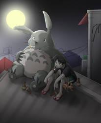 My Neighbor Totoro by deboahan