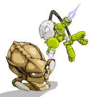 Zealot vs Hydralisk by deboahan