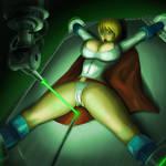 Power Girl Laser Peril