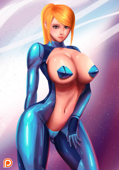 Samus Negative Suit
