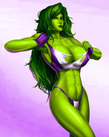 She Hulk by svoidist
