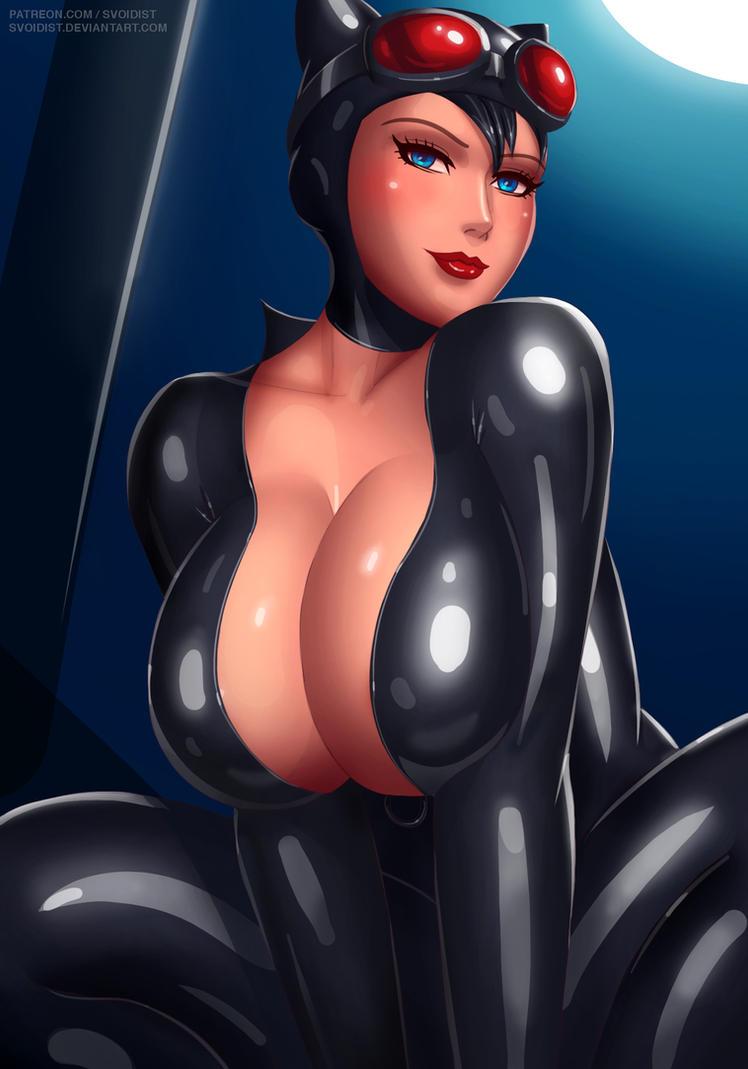 Catwoman by svoidist