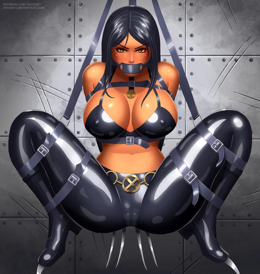 X-23 harnessed by svoidist