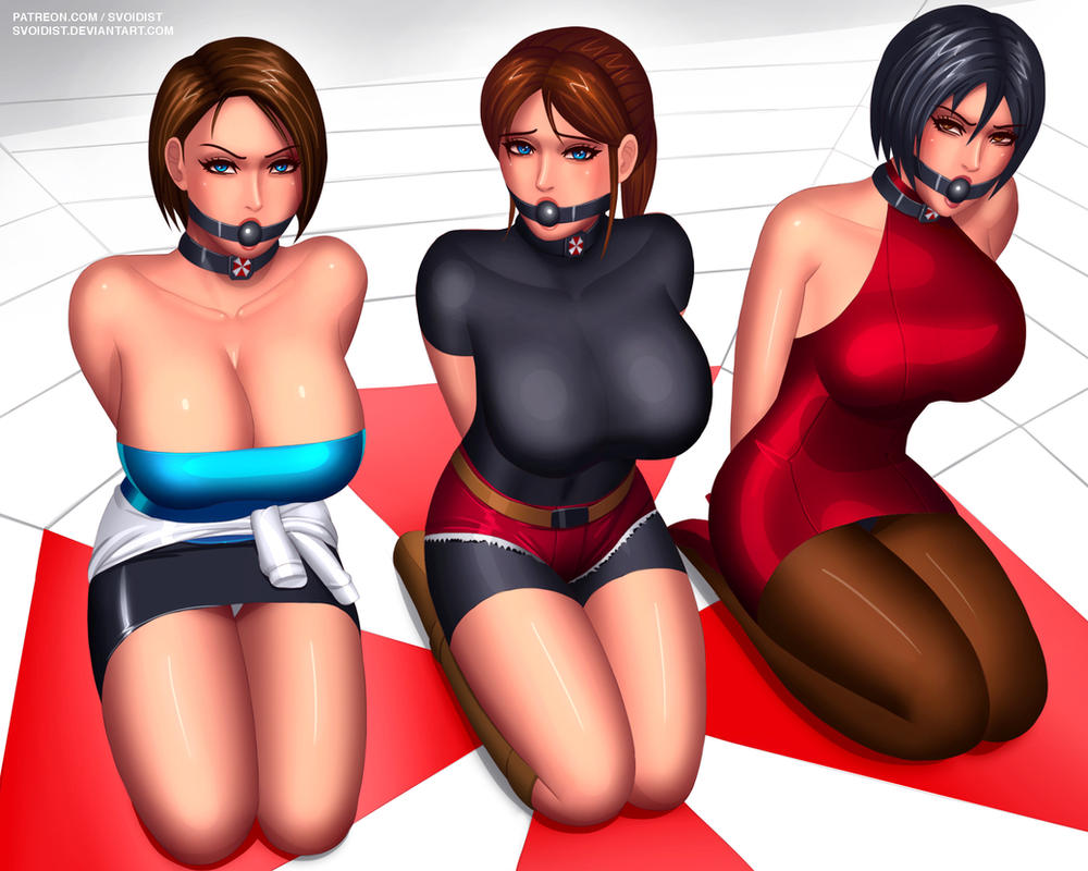 Resident Evil Trifecta by svoidist