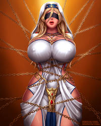 Sword Maiden chained