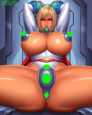 Power Girl Kryptonite restraint by svoidist