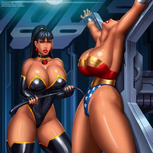 Wonder Woman and Superwoman by svoidist