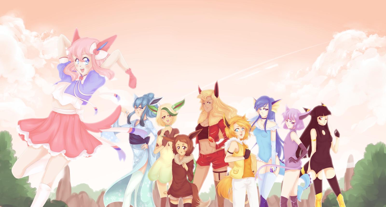 Pokemon: Family Reunion! by Amai-Kawaii